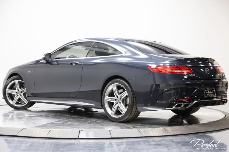 Used 2015 Mercedes Benz S Class S 63 AMG