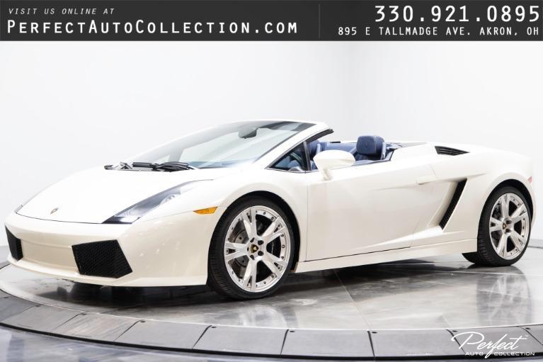 Used 2007 Lamborghini Gallardo Spyder for sale $119,995 at Perfect Auto Collection in Akron OH