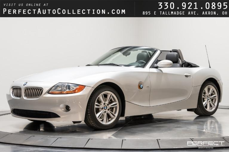 Used 2003 BMW Z4 3.0i for sale $15,995 at Perfect Auto Collection in Akron OH