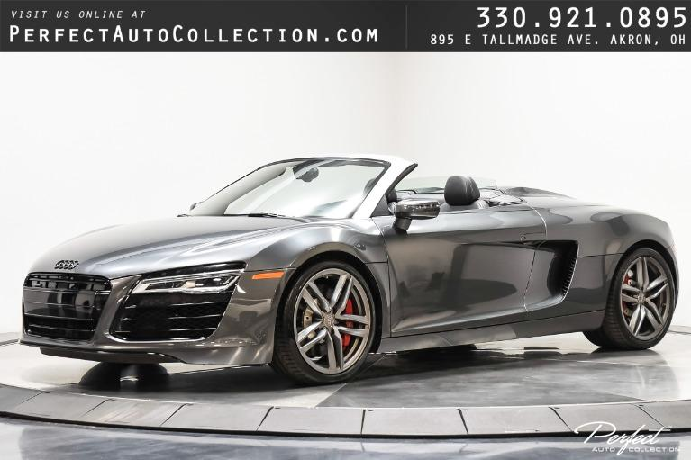 Used 2015 Audi R8 4.2 quattro Spyder for sale $109,995 at Perfect Auto Collection in Akron OH