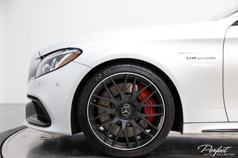 Used 2017 Mercedes Benz C Class AMG C 63 S