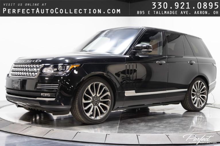 Used 2016 Land Rover Range Rover Autobiography for sale $72,495 at Perfect Auto Collection in Akron OH