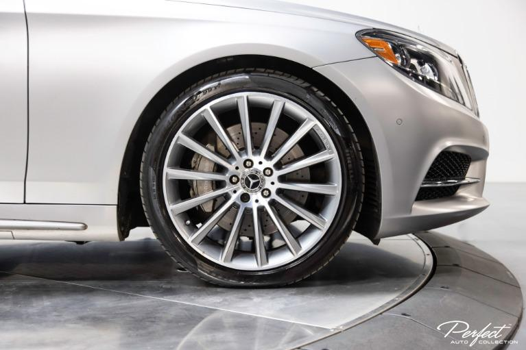 Used 2017 Mercedes Benz S Class S 550 4MATIC