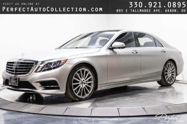 Used 2017 Mercedes-Benz S-Class S 550 4MATIC for sale $64,995 at Perfect Auto Collection in Akron OH
