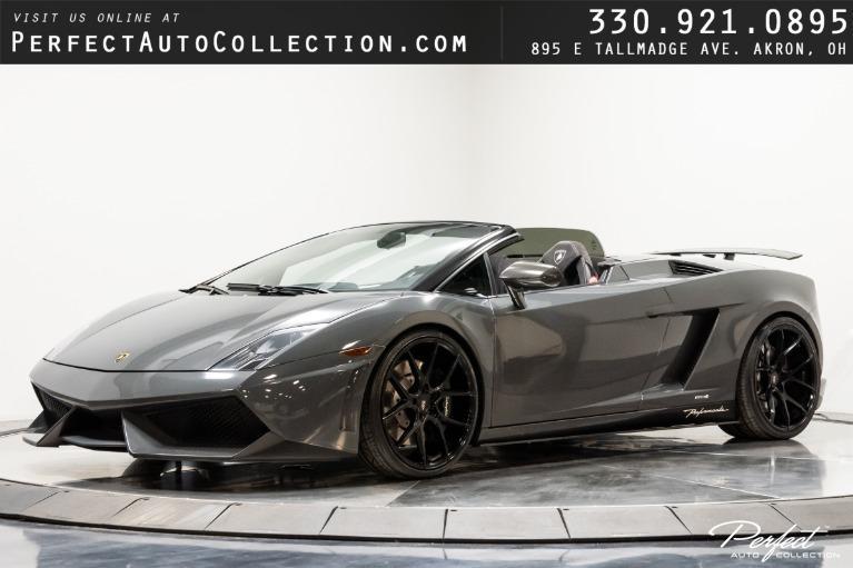 Used 2011 Lamborghini Gallardo LP 570-4 Spyder Performante for sale $169,995 at Perfect Auto Collection in Akron OH