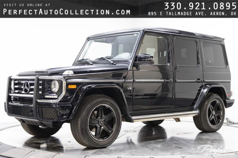 Used 2017 Mercedes-Benz G-Class G 550 for sale $92,995 at Perfect Auto Collection in Akron OH
