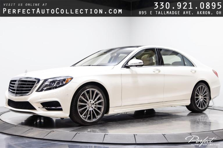 Used 2015 Mercedes-Benz S-Class S 550 4MATIC for sale $58,995 at Perfect Auto Collection in Akron OH