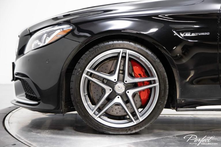 Used 2018 Mercedes Benz C Class AMG C 63 S