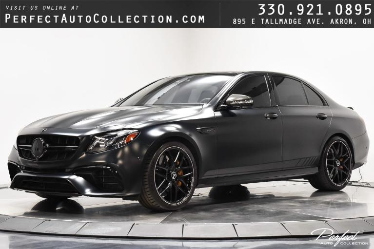 Used 2018 Mercedes-Benz E-Class AMG E 63 S Edition 1 for sale $99,795 at Perfect Auto Collection in Akron OH