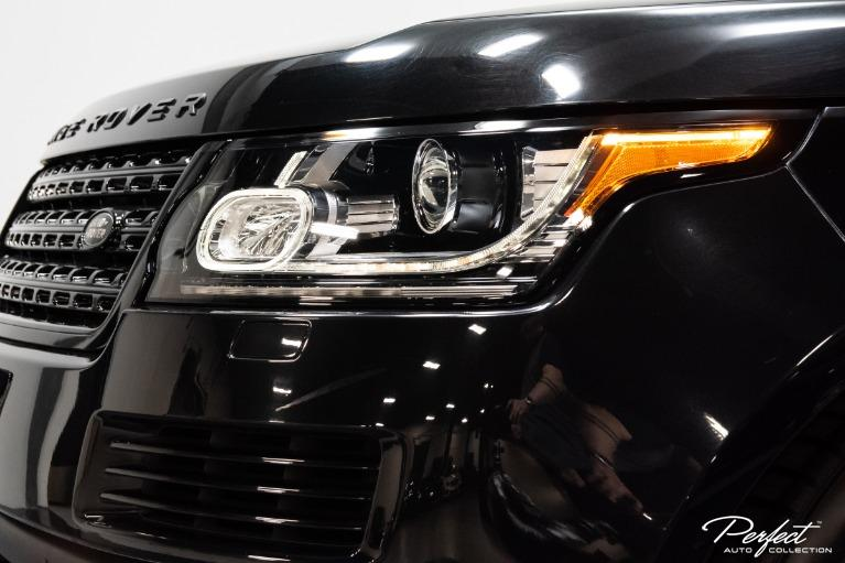 Used 2017 Land Rover Range Rover Supercharged LWB