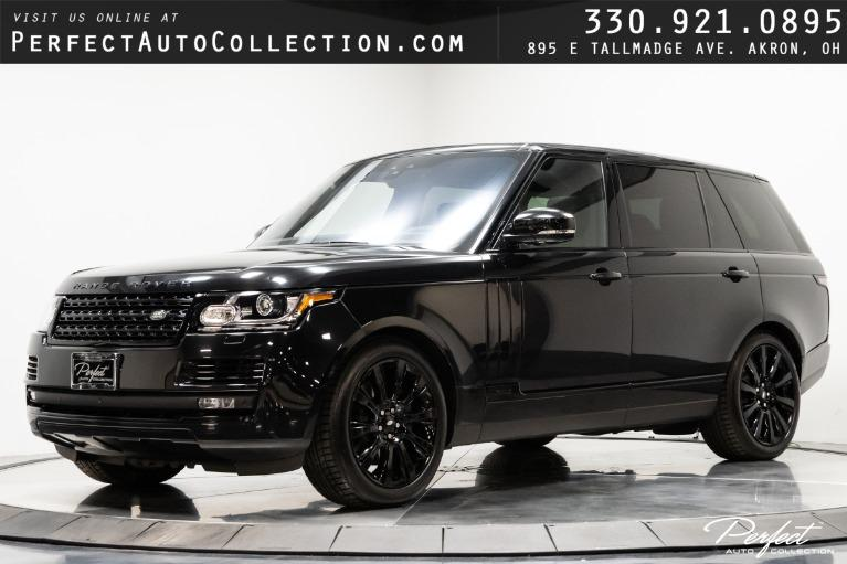 Used 2017 Land Rover Range Rover Supercharged LWB for sale $79,495 at Perfect Auto Collection in Akron OH