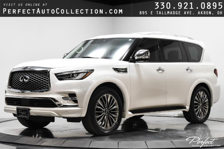 Used 2018 INFINITI QX80 for sale $55,995 at Perfect Auto Collection in Akron OH