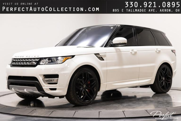Used 2017 Land Rover Range Rover Sport Autobiography for sale $69,995 at Perfect Auto Collection in Akron OH