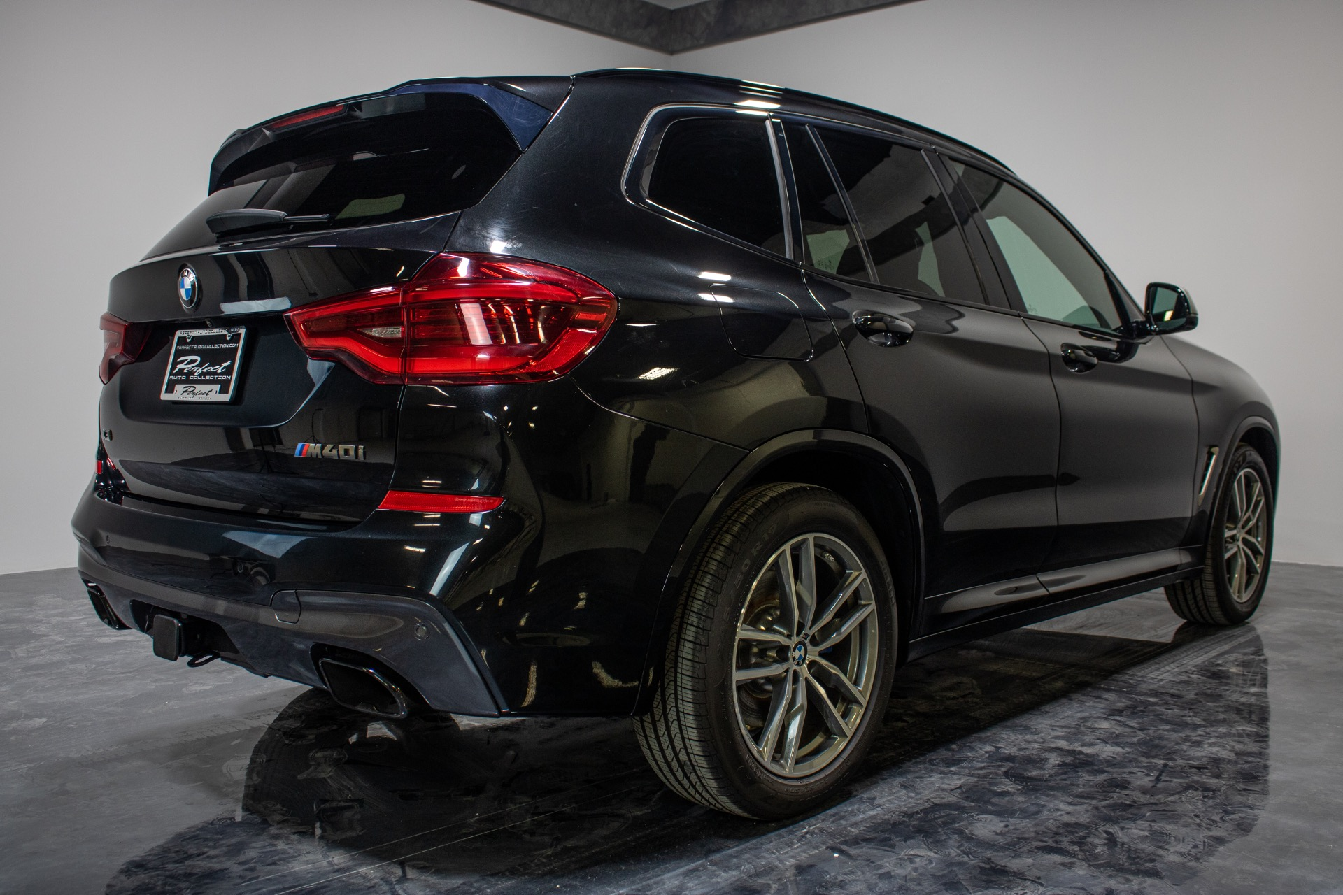 Used 2018 BMW X3 M40i Sport Utility 4D for sale Sold at Perfect Auto Collection in Akron OH 44310 4