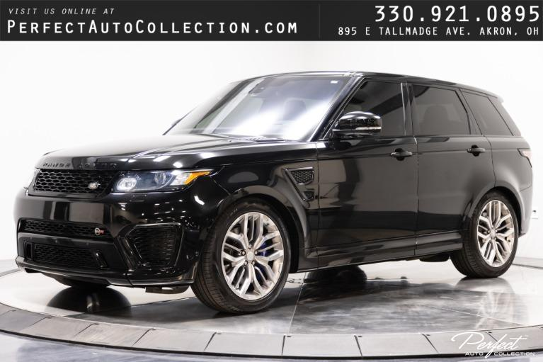 Used 2016 Land Rover Range Rover Sport SVR for sale $75,995 at Perfect Auto Collection in Akron OH