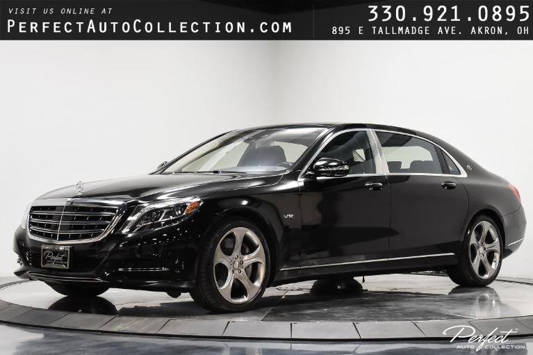 Used 2016 Mercedes-Benz S-Class Mercedes-Maybach S 600 for sale $112,995 at Perfect Auto Collection in Akron OH