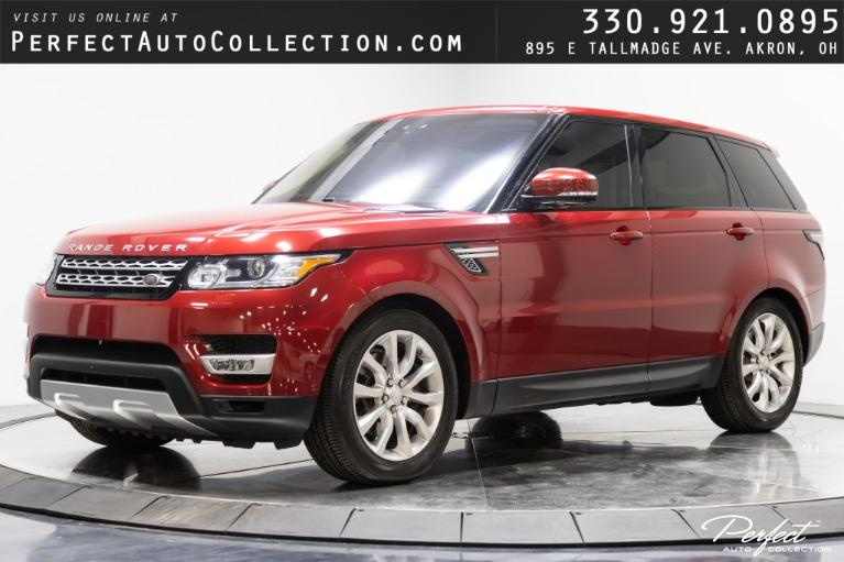 Used 2017 Land Rover Range Rover Sport HSE for sale $53,995 at Perfect Auto Collection in Akron OH
