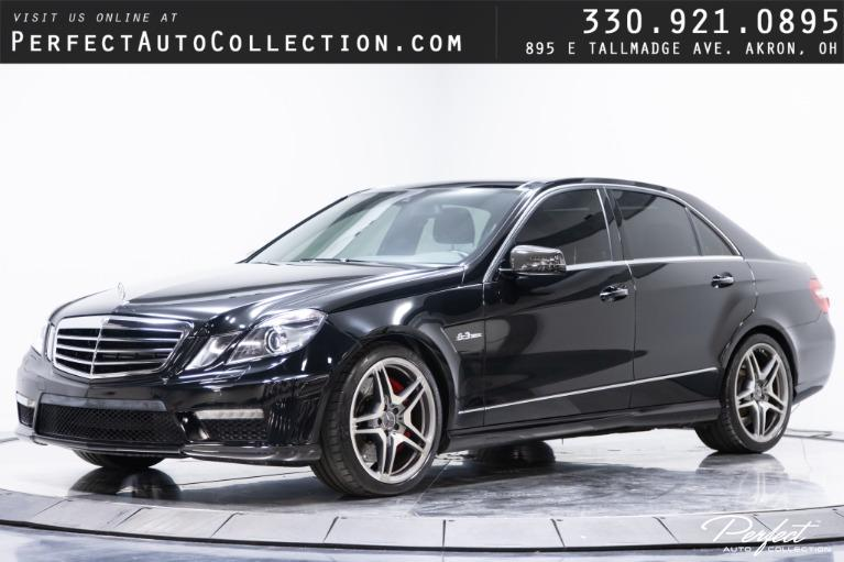 Used 2011 Mercedes-Benz E-Class E 63 AMG for sale $34,995 at Perfect Auto Collection in Akron OH