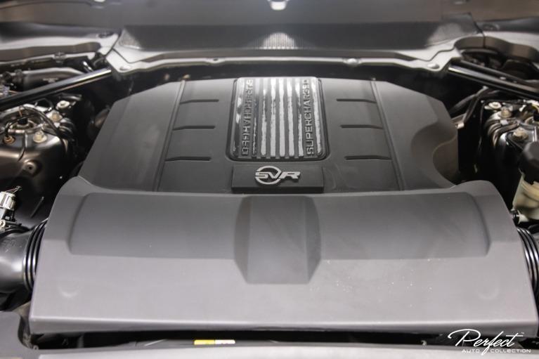 Used 2017 Land Rover Range Rover Sport SVR
