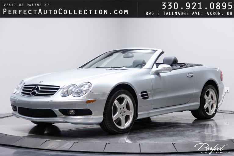 Used 2003 Mercedes-Benz SL-Class SL 500 for sale $24,995 at Perfect Auto Collection in Akron OH