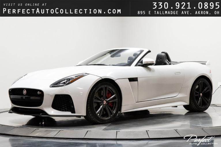 Used 2017 Jaguar F-TYPE SVR for sale $77,995 at Perfect Auto Collection in Akron OH