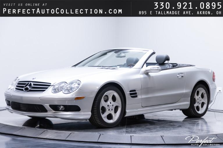 Used 2005 Mercedes-Benz SL-Class SL 500 for sale $23,995 at Perfect Auto Collection in Akron OH