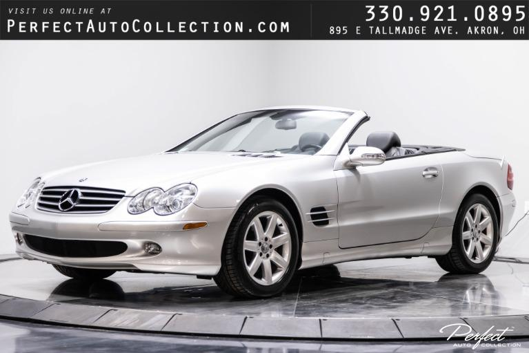 Used 2003 Mercedes-Benz SL-Class SL 500 for sale $26,995 at Perfect Auto Collection in Akron OH