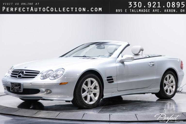 Used 2003 Mercedes-Benz SL-Class SL 500 for sale $23,995 at Perfect Auto Collection in Akron OH