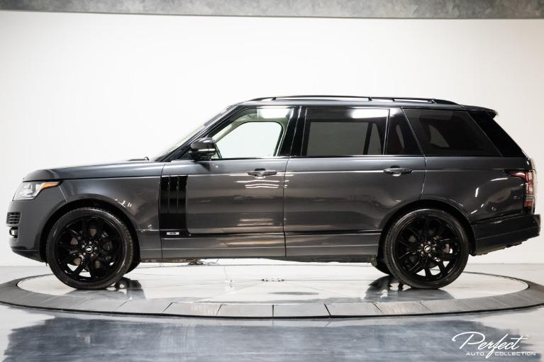 Used 2016 Land Rover Range Rover Supercharged LWB