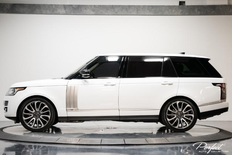 Used 2017 Land Rover Range Rover Autobiography LWB