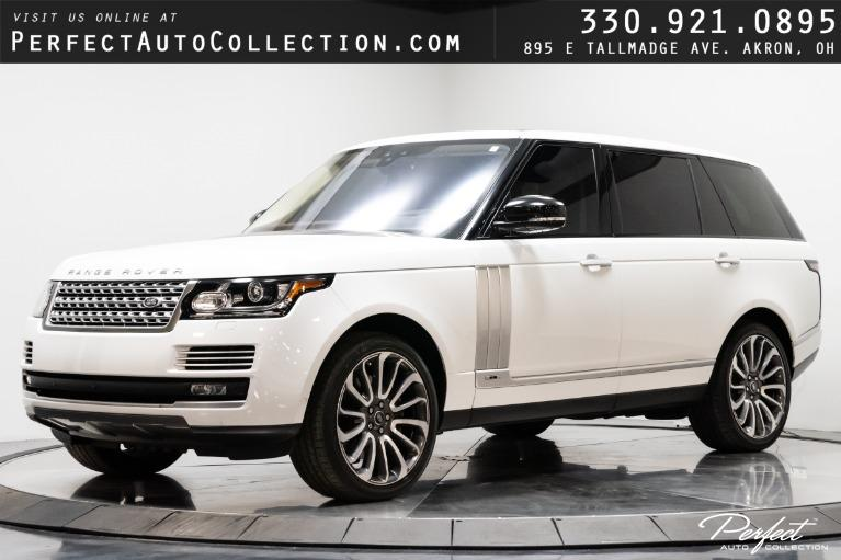 Used 2017 Land Rover Range Rover Autobiography LWB for sale $87,495 at Perfect Auto Collection in Akron OH