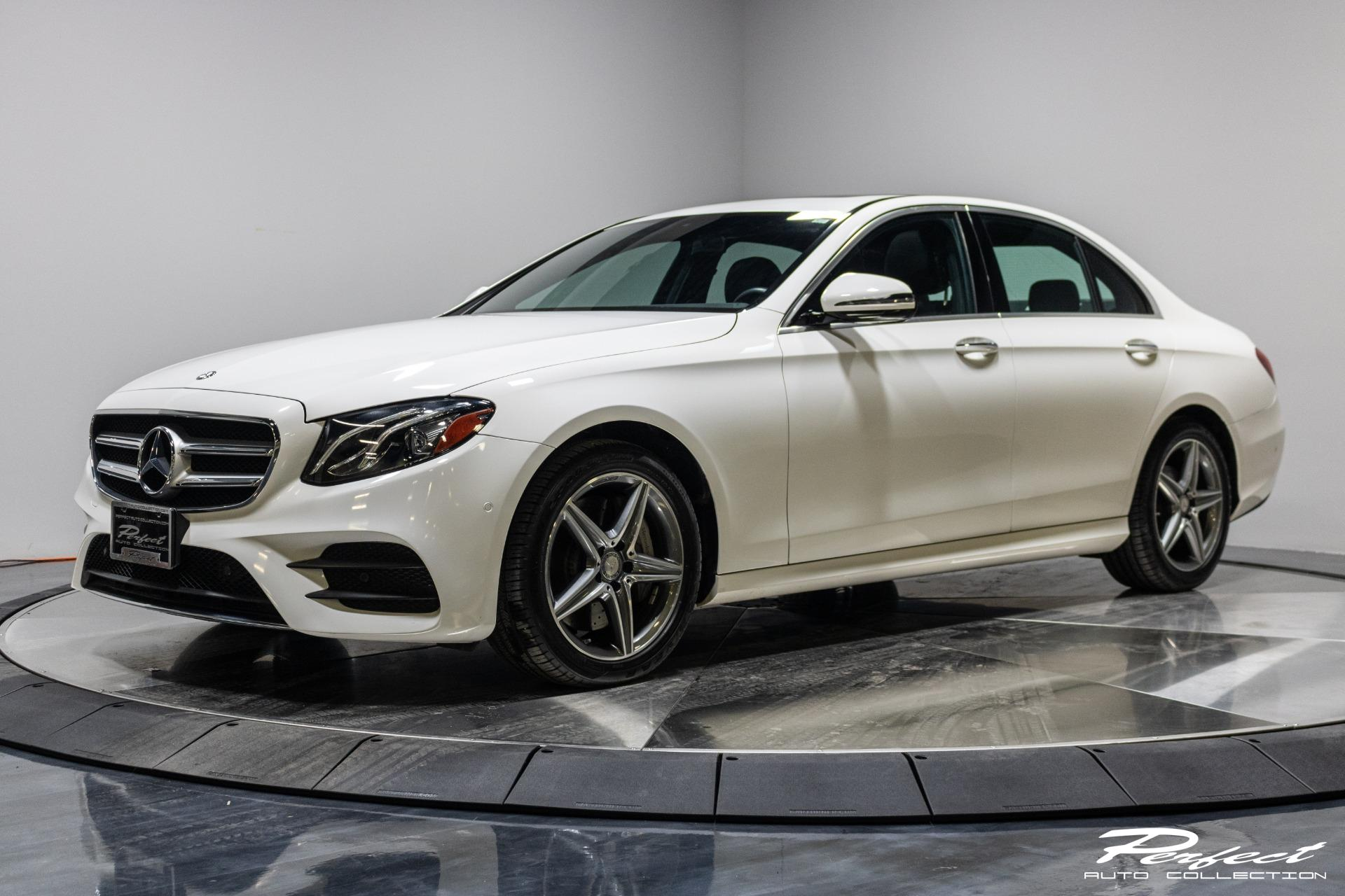 Used 2017 Mercedes-Benz E-Class E 300 4MATIC for sale Sold at Perfect Auto Collection in Akron OH 44310 1