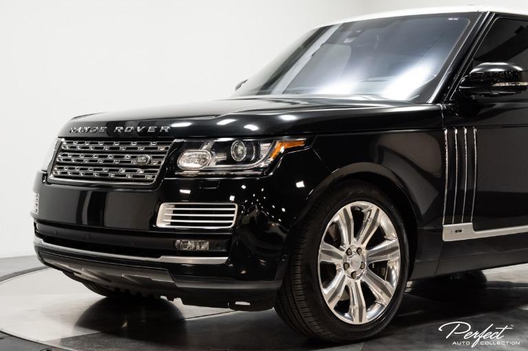 Used 2016 Land Rover Range Rover SVAutobiography LWB