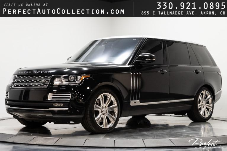 Used 2016 Land Rover Range Rover SVAutobiography LWB for sale $91,995 at Perfect Auto Collection in Akron OH