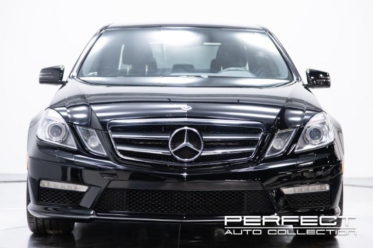 Used 2010 Mercedes Benz E Class E 63 AMG