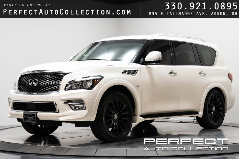Used 2016 INFINITI QX80 for sale $38,995 at Perfect Auto Collection in Akron OH