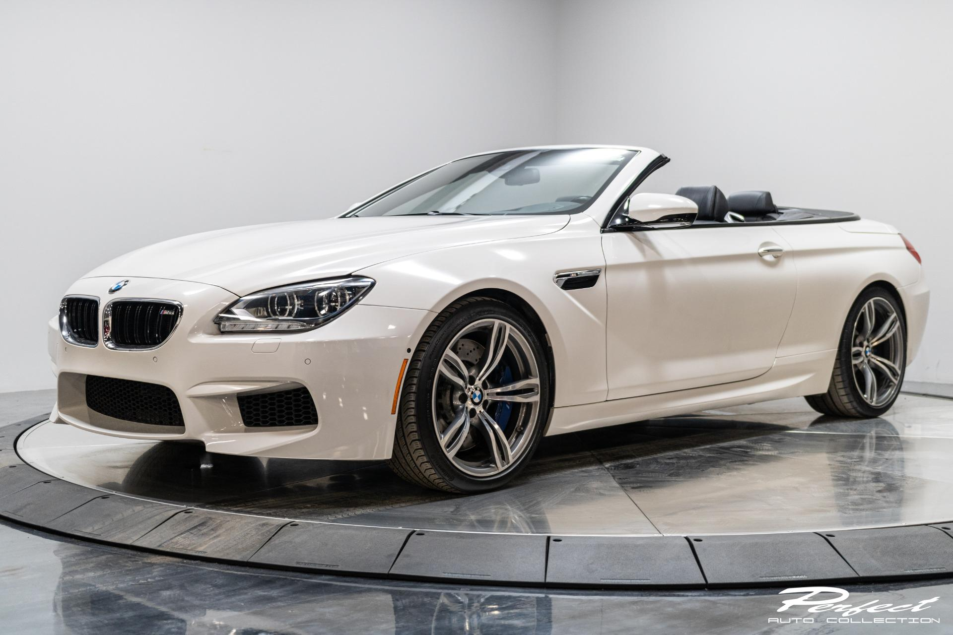 Used 2012 BMW M6 Convertible 2D for sale $37,993 at Perfect Auto Collection in Akron OH 44310 1