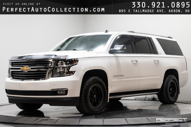 Used 2015 Chevrolet Suburban LTZ 1500 for sale $34,495 at Perfect Auto Collection in Akron OH