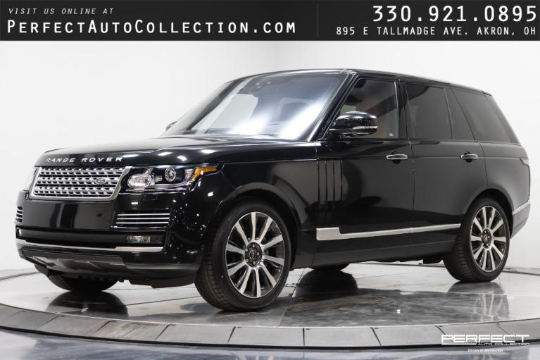 Used 2017 Land Rover Range Rover Autobiography for sale $88,995 at Perfect Auto Collection in Akron OH