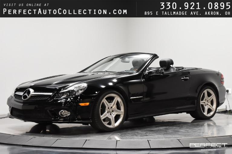 Used 2011 Mercedes-Benz SL-Class SL 550 for sale $40,995 at Perfect Auto Collection in Akron OH