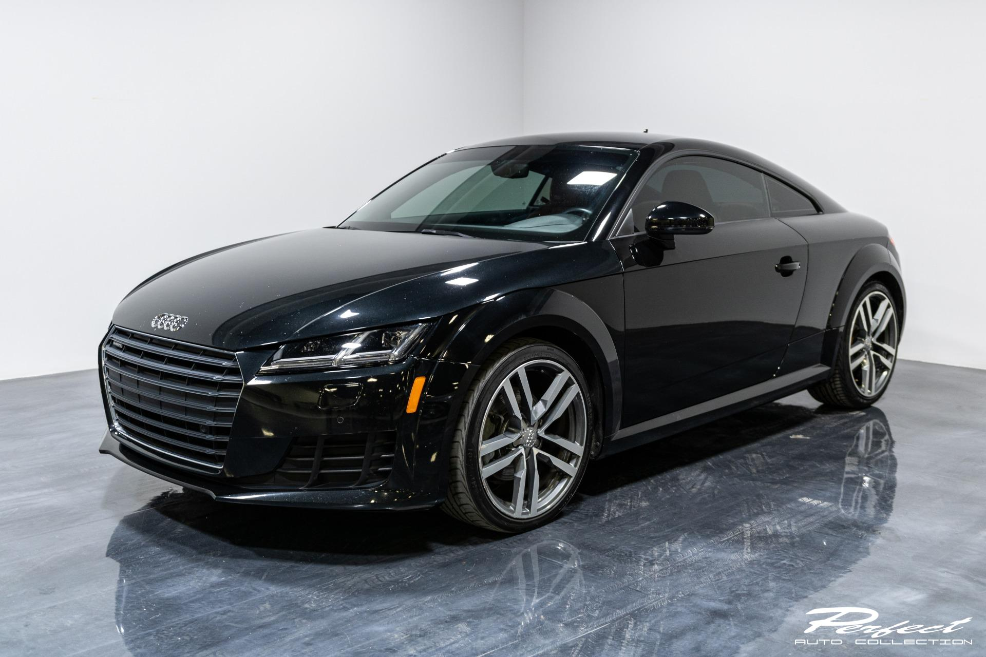 Used 2016 Audi TT 2.0T quattro for sale Sold at Perfect Auto Collection in Akron OH 44310 1