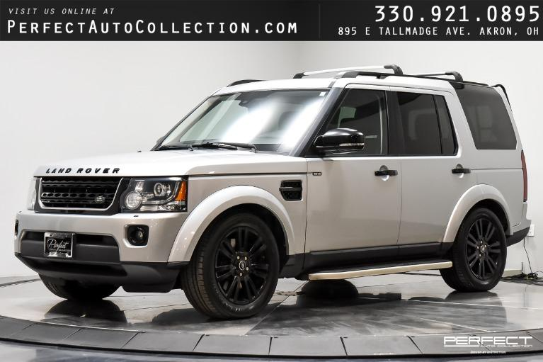 Used 2015 Land Rover LR4 HSE LUX for sale $29,995 at Perfect Auto Collection in Akron OH