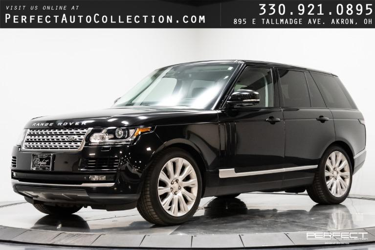 Used 2015 Land Rover Range Rover Supercharged for sale $51,995 at Perfect Auto Collection in Akron OH