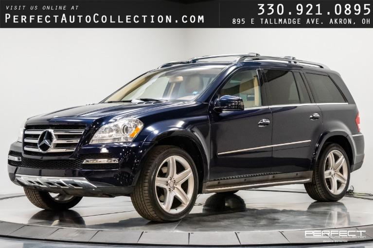 Used 2011 Mercedes-Benz GL-Class GL 550 4MATIC for sale $29,995 at Perfect Auto Collection in Akron OH