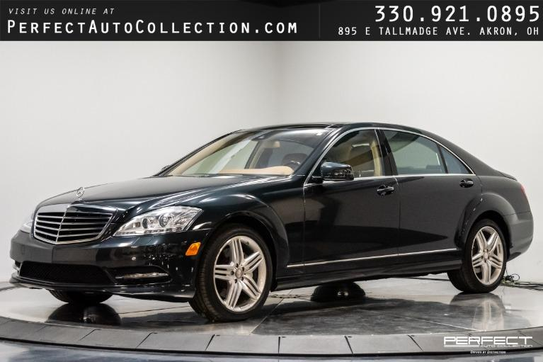 Used 2013 Mercedes-Benz S-Class S 550 4MATIC for sale $37,995 at Perfect Auto Collection in Akron OH