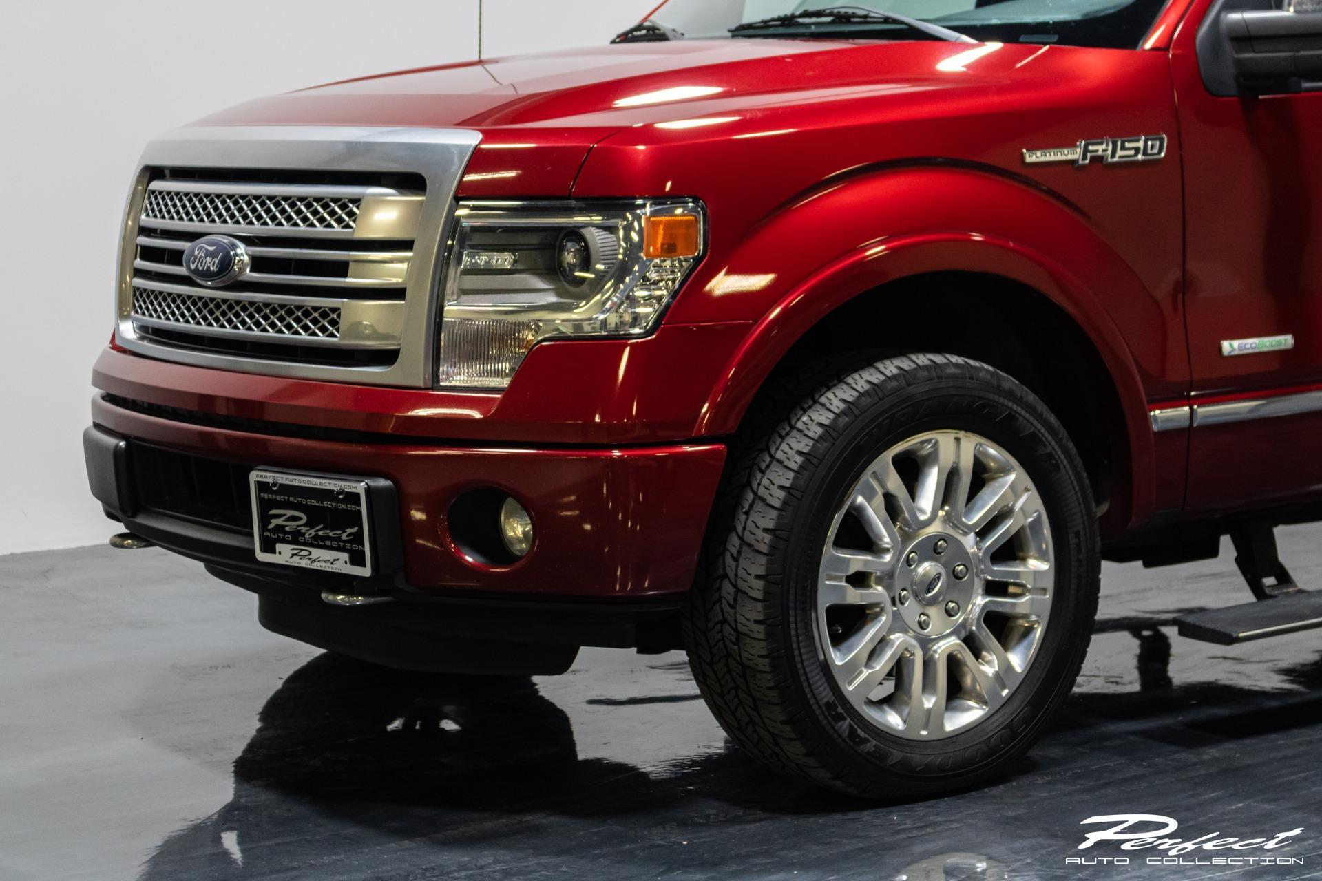 Used 2014 Ford F 150 Platinum