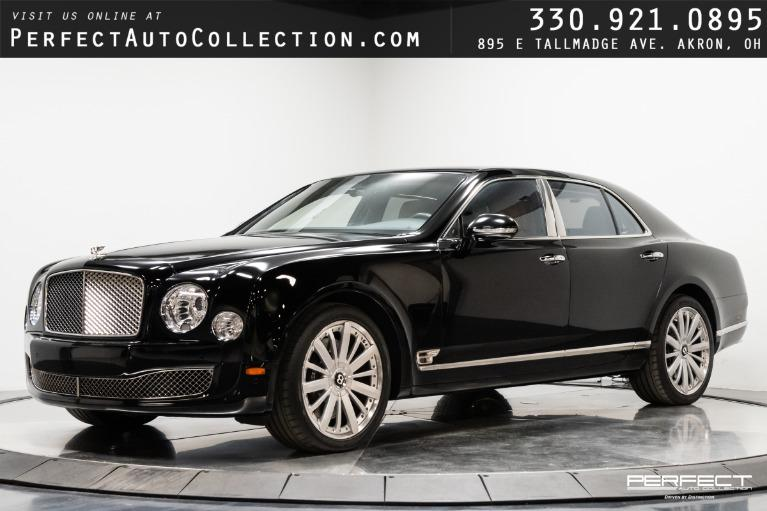 Used 2016 Bentley Mulsanne Mulliner Driving Spec for sale $164,995 at Perfect Auto Collection in Akron OH