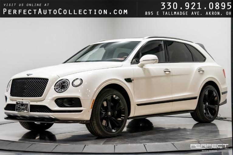 Used 2018 Bentley Bentayga Black Edition Mulliner Driving Spec for sale $169,995 at Perfect Auto Collection in Akron OH