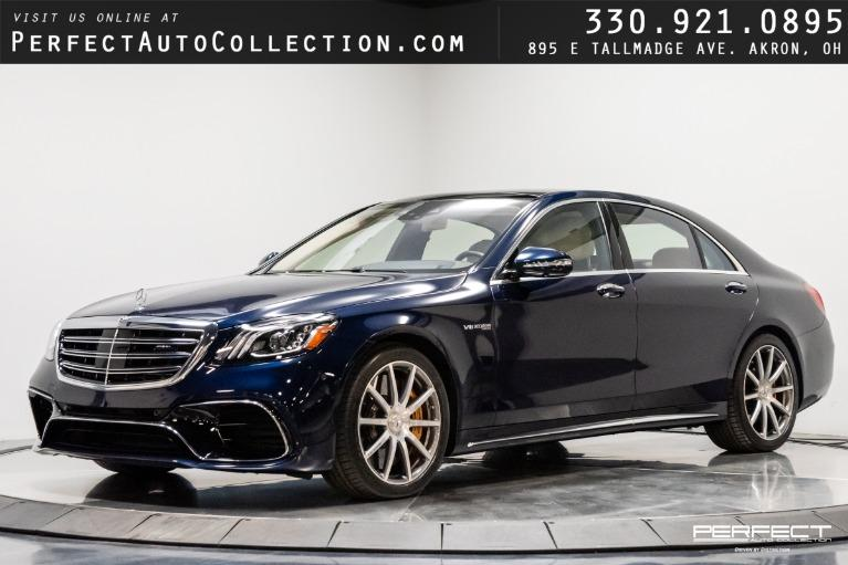 Used 2018 Mercedes-Benz S-Class AMG S 63 for sale $133,495 at Perfect Auto Collection in Akron OH
