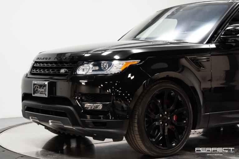 Used 2017 Land Rover Range Rover Sport Supercharged Dynamic
